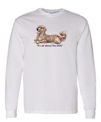 Golden Retriever - All About The Dog - Long Sleeve T-Shirt