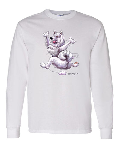 Samoyed - Happy Dog - Long Sleeve T-Shirt