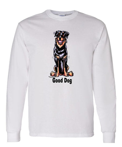 Rottweiler - Good Dog - Long Sleeve T-Shirt