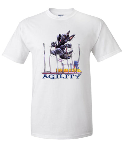 Scottish Terrier - Agility Weave II - T-Shirt