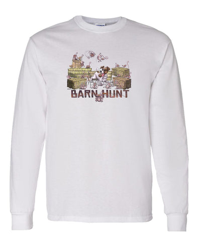 Jack Russell Terrier - Barnhunt - Long Sleeve T-Shirt