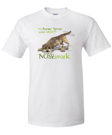 Border Terrier - Nosework - T-Shirt