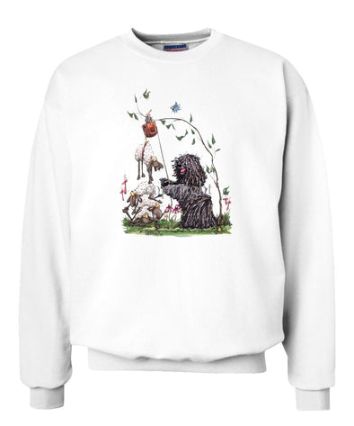 Puli - With Pulley Sheep - Caricature - Sweatshirt