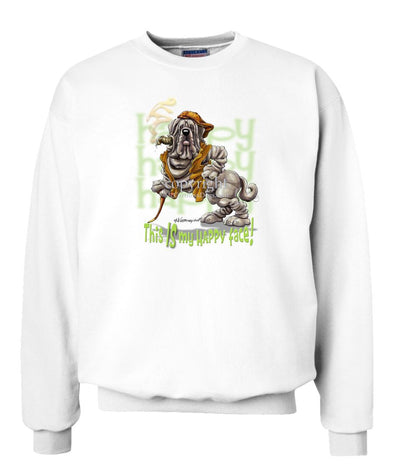 Neopolitan Mastiff - Who's A Happy Dog - Sweatshirt