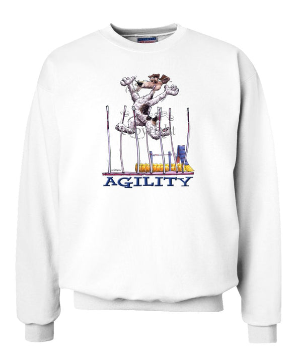 Wire Fox Terrier - Agility Weave II - Sweatshirt
