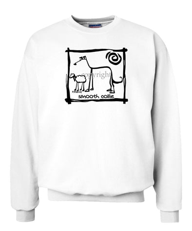Collie  Smooth - Cavern Canine - Sweatshirt