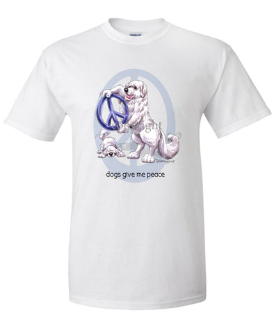 Great Pyrenees - Peace Dogs - T-Shirt