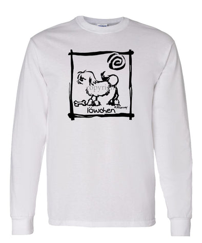 Lowchen - Cavern Canine - Long Sleeve T-Shirt