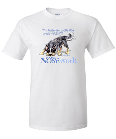 Australian Cattle Dog - Nosework - T-Shirt