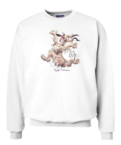 Afghan Hound - Happy Dog - Sweatshirt