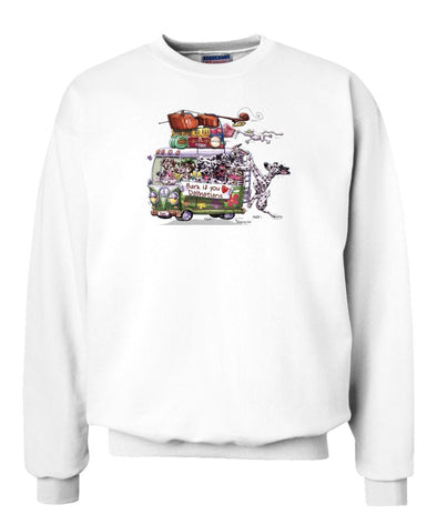 Dalmatian - Bark If You Love Dogs - Sweatshirt