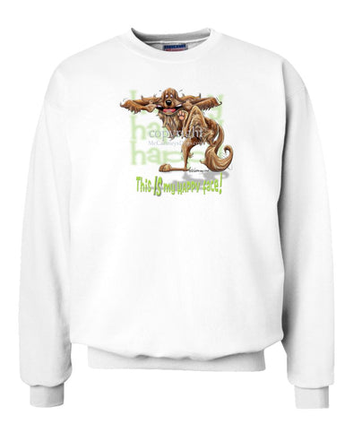 Irish Setter - Who's A Happy Dog - Sweatshirt