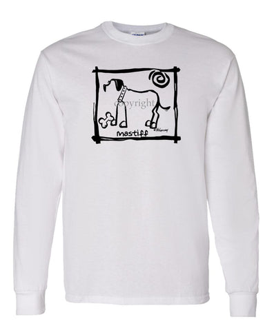 Mastiff - Cavern Canine - Long Sleeve T-Shirt