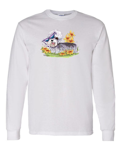 Dandy Dinmont - With Sunglasses - Caricature - Long Sleeve T-Shirt