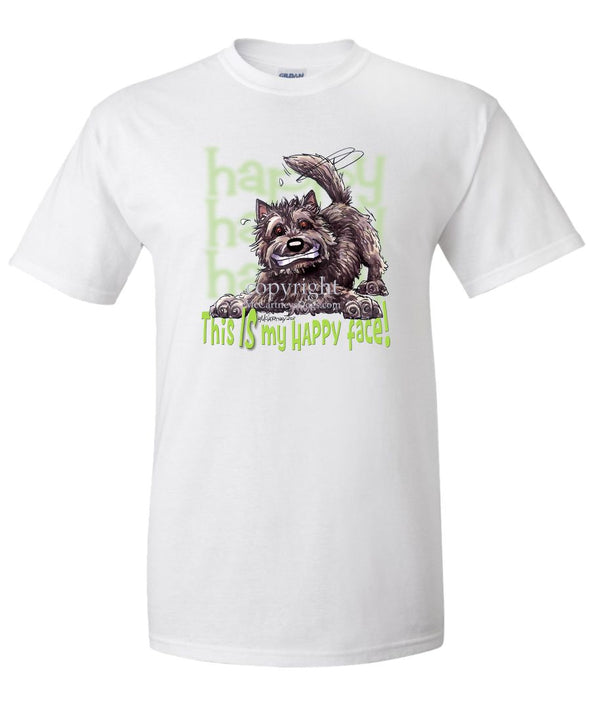 Cairn Terrier - 2 - Who's A Happy Dog - T-Shirt
