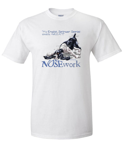 English Springer Spaniel - Nosework - T-Shirt