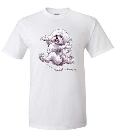 Bichon Frise - Happy Dog - T-Shirt