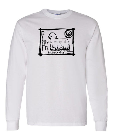 Komondor - Cavern Canine - Long Sleeve T-Shirt