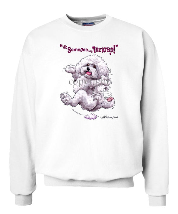 Bichon Frise - Treats - Sweatshirt