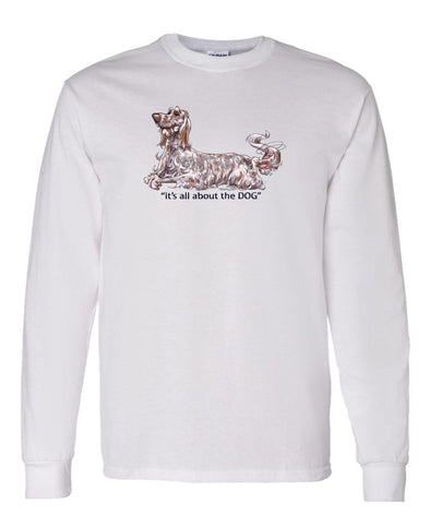 English Setter - All About The Dog - Long Sleeve T-Shirt
