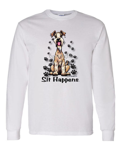 Lakeland Terrier - Sit Happens - Long Sleeve T-Shirt