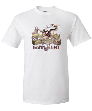 German Shepherd - Barnhunt - T-Shirt