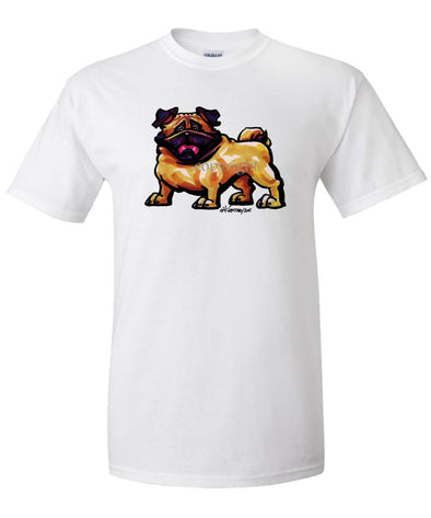 Pug - Cool Dog - T-Shirt