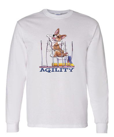 Welsh Corgi Pembroke - Agility Weave II - Long Sleeve T-Shirt