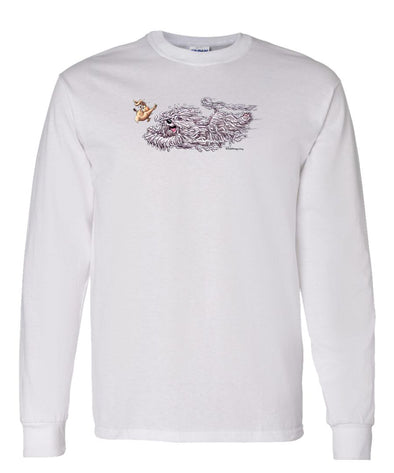 Komondor - Chasing Rabbit - Mike's Faves - Long Sleeve T-Shirt