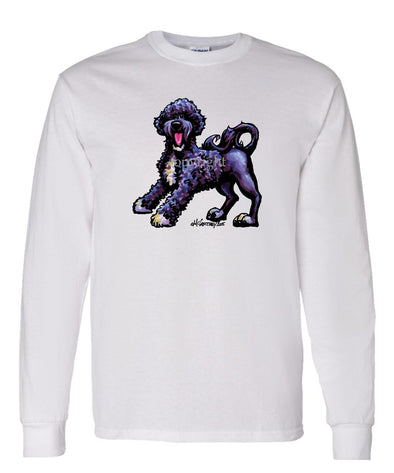 Portuguese Water Dog - Cool Dog - Long Sleeve T-Shirt