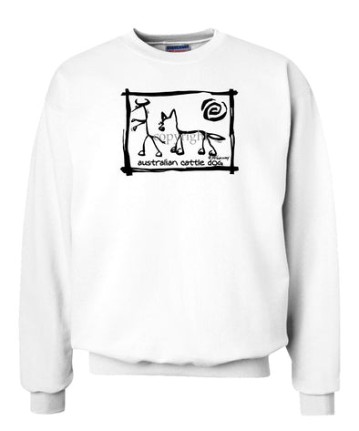 Australian Cattle Dog - Cavern Canine - Sweatshirt