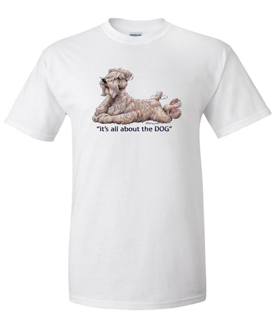 Soft Coated Wheaten - All About The Dog - T-Shirt