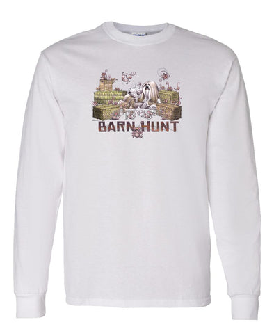 Lhasa Apso - Barnhunt - Long Sleeve T-Shirt