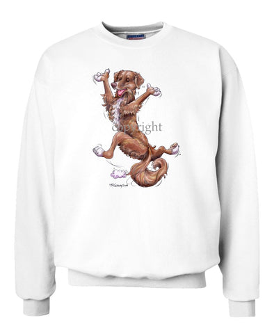 Nova Scotia Duck Tolling Retriever - Happy Dog - Sweatshirt