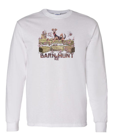 Airedale Terrier - Barnhunt - Long Sleeve T-Shirt