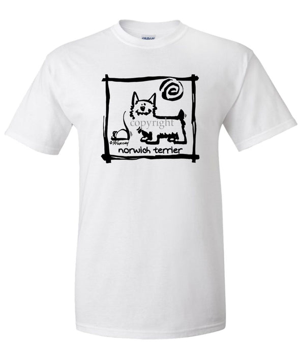Norwich Terrier - Cavern Canine - T-Shirt
