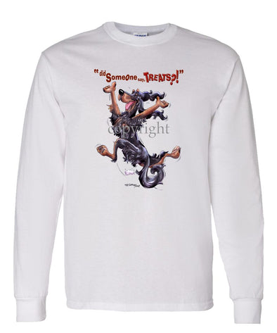 Gordon Setter - Treats - Long Sleeve T-Shirt