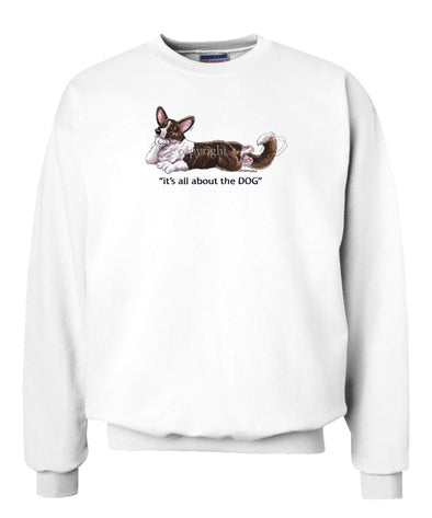 Welsh Corgi Cardigan - All About The Dog - Sweatshirt