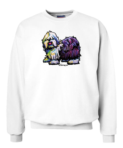 Old English Sheepdog - Cool Dog - Sweatshirt