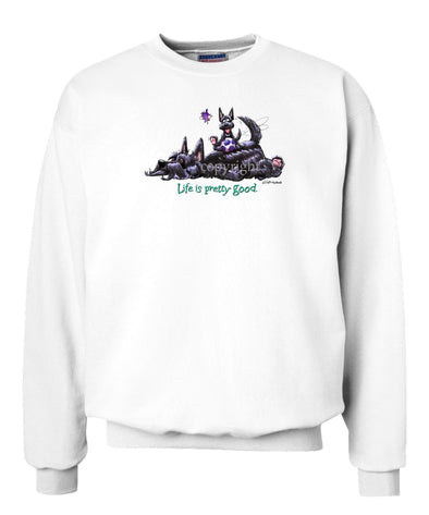 Scottish Terrier - Life Is Pretty Good - Sweatshirt