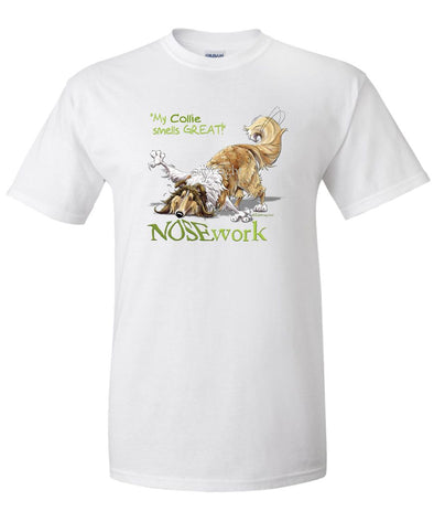 Collie - Nosework - T-Shirt
