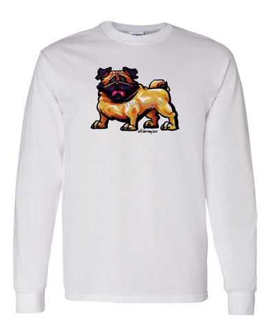 Pug - Cool Dog - Long Sleeve T-Shirt