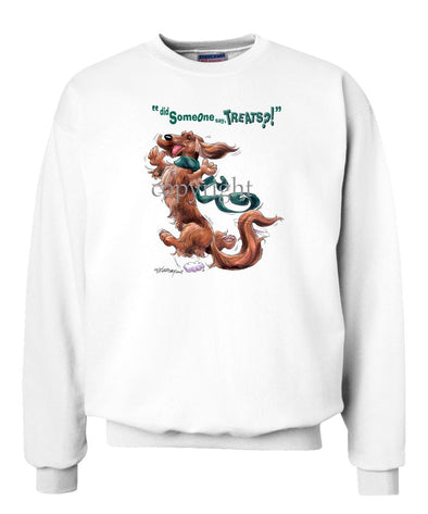 Dachshund  Longhaired - Treats - Sweatshirt