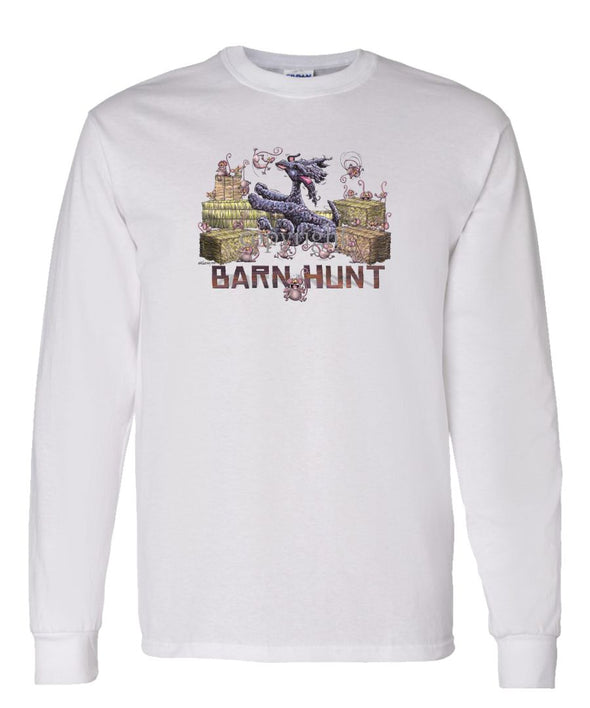 Kerry Blue Terrier - Barnhunt - Long Sleeve T-Shirt