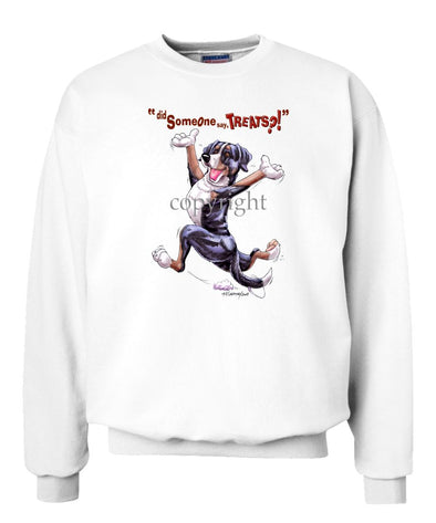 Greater Swiss Mountain Dog - Treats - Sweatshirt