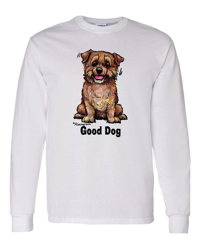 Norfolk Terrier - Good Dog - Long Sleeve T-Shirt
