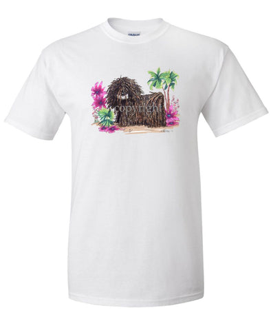 Puli - Tropic Beach - Caricature - T-Shirt