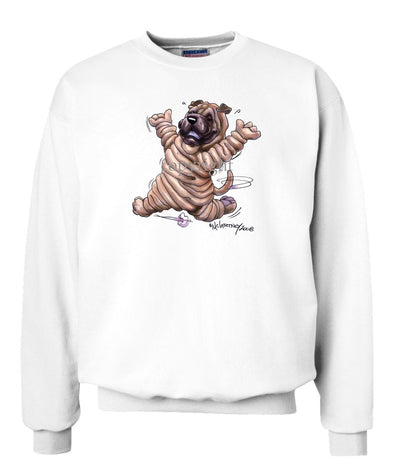 Shar Pei - Happy Dog - Sweatshirt