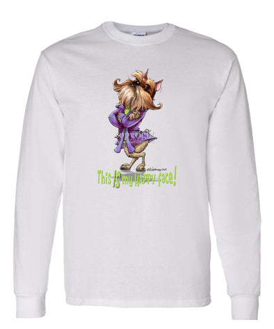 Brussels Griffon - Who's A Happy Dog - Long Sleeve T-Shirt