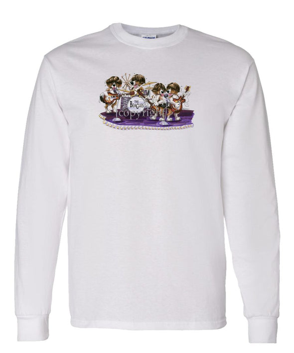 Beagle - The Beagles - Caricature - Long Sleeve T-Shirt